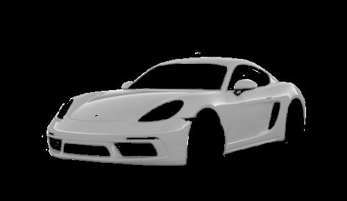Цвета кузова 718 Cayman